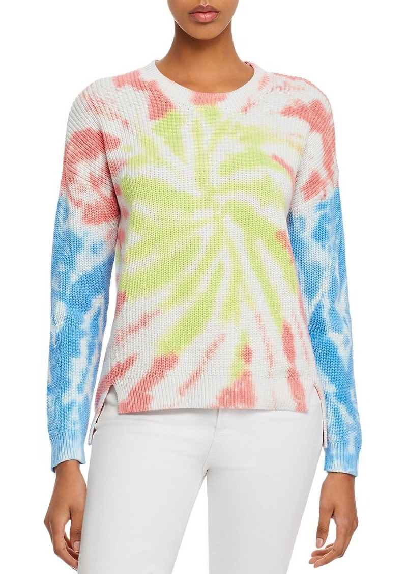 AQUA Tie-Dye High/Low Sweater - 100% Exclusive