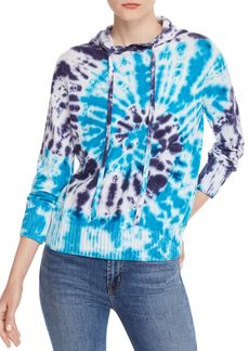 AQUA Tie-Dye Hooded Sweater - 100% Exclusive