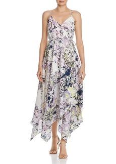 AQUA Tie-Dye Maxi Wrap Dress - 100% Exclusive