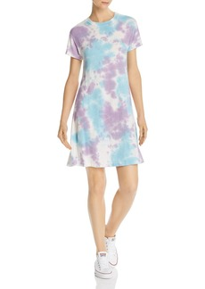 AQUA Tie-Dye T-Shirt Dress - 100% Exclusive