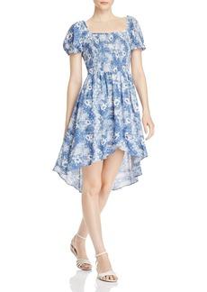 AQUA Tie-Dyed Paisley Dress - 100% Exclusive