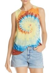 AQUA Tie-Dyed Tank - 100% Exclusive