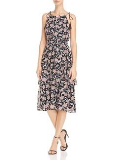 AQUA Tiered Paisley Print Dress - 100% Exclusive
