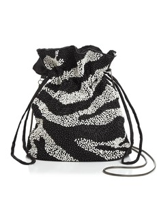 AQUA Tilly Zebra Beaded Pouch - 100% Exclusive