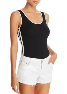 AQUA Track Stripe Bodysuit - 100% Exclusive