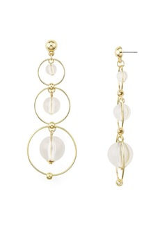 AQUA Triple Hoop Earrings - 100% Exclusive