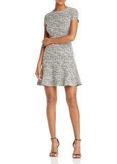 Aqua Tweed Dress - 100% Exclusive