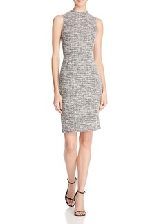 AQUA Tweed Sheath Dress - 100% Exclusive