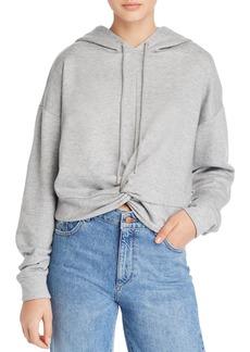 AQUA Twist-Front Hooded Sweatshirt - 100% Exclusive
