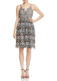 AQUA Two Tone Cami Lace Dress - 100% Exclusive