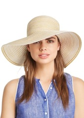 AQUA Two-Tone Packable Floppy Sun Hat - 100% Exclusive