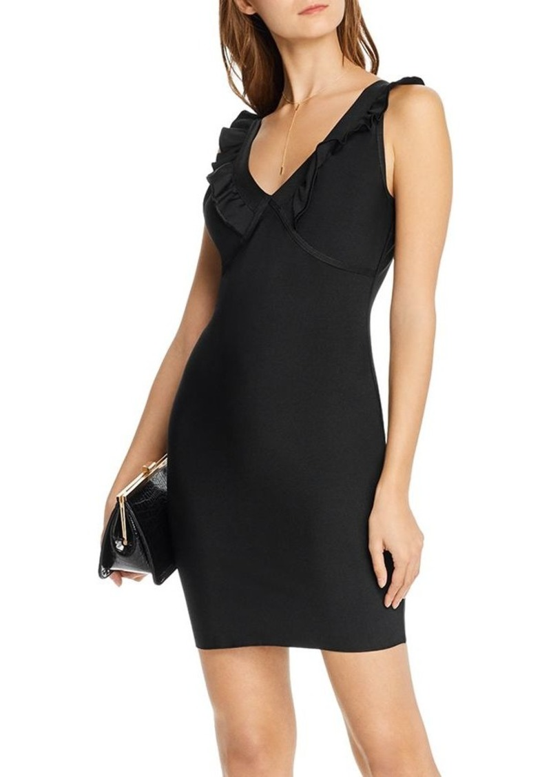 AQUA V-Back Body-Con Dress - 100% Exclusive
