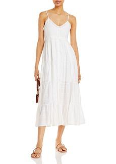 AQUA V Neck Tiered Dress - 100% Exclusive