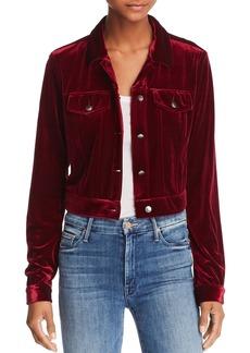 AQUA Velvet Jacket - 100% Exclusive