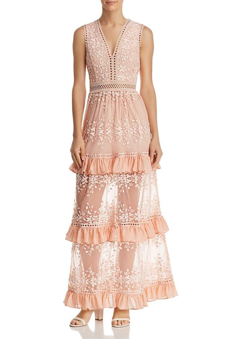 e182118e5c82 Aqua AQUA Vine Embroidered Maxi Dress - 100% Exclusive