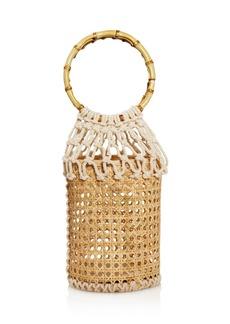AQUA Wicker & Woven Basket Bag - 100% Exclusive
