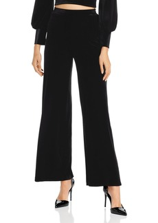 AQUA Wide-Leg Velvet Pants - 100% Exclusive