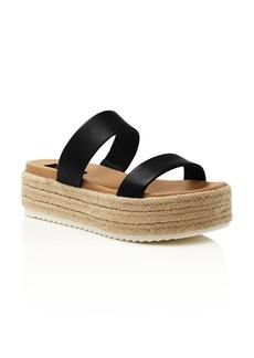 AQUA Women's Ayden Espadrille Platform Sandals - 100% Exclusive