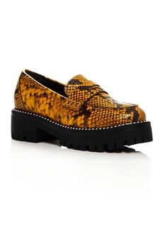 AQUA Women's Bela Studded Platform Loafers - 100% Exclusive