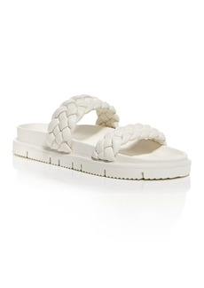 AQUA Women's Braided Slide Sandals - 100% Exclusive