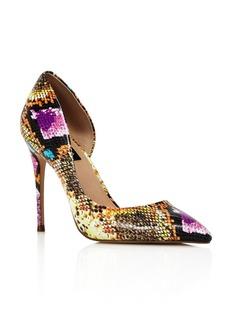 AQUA Women's Dion Half d'Orsay High-Heel Pumps - 100% Exclusive