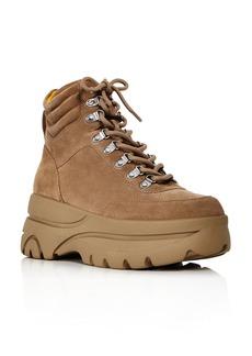 AQUA Women's Haly Platform Hiker Boots - 100% Exclusive