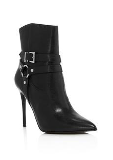 AQUA Women's Jolt Pointed Toe Leather High-Heel Booties - 100% Exclusive