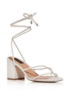 AQUA Women's Kate Ankle Strap Block Heel Sandals - 100% Exclusive