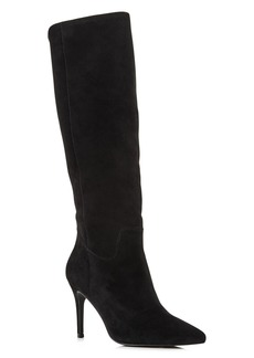 AQUA Women's Lenni Suede Tall Boots - 100% Exclusive