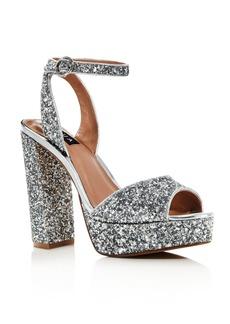 AQUA Women's Mardi High-Heel Platform Sandals - 100% Exclusive