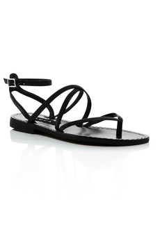 AQUA Women's Sand Strappy Thong Sandals - 100% Exclusive