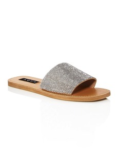 AQUA Women's Shine Slip On Sandals - 100% Exclusive