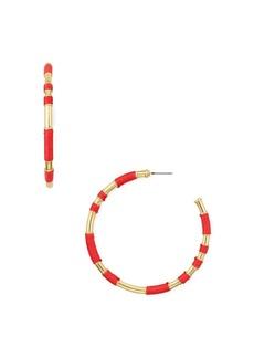 AQUA Wrap Hoop Earrings - 100% Exclusive