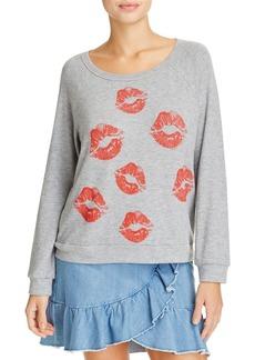 AQUA x Lauren Moshi Lips Graphic Sweatshirt - 100% Exclusive