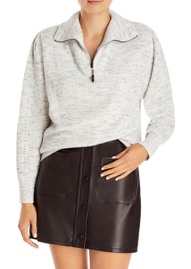AQUA Zip Turtleneck Sweater - 100% Exclusive