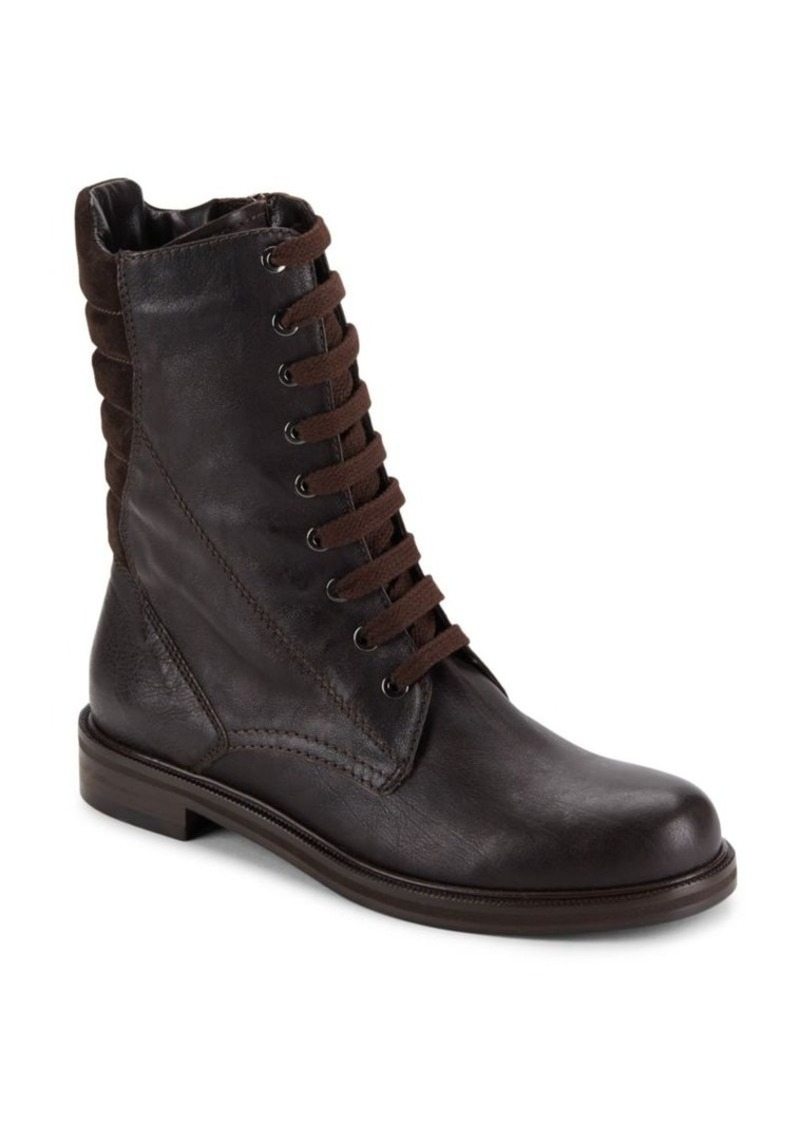 Aquatalia by Marvin K Quilted Leather Boots