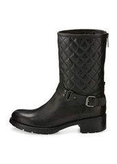 Aquatalia by Marvin K Sage Quilted Moto Bootie