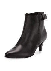 Aquatalia by Marvin K Sari One-Buckle Leather Bootie