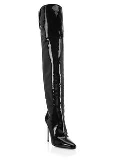Aquazzura Alma Patent Leather Tall Boots