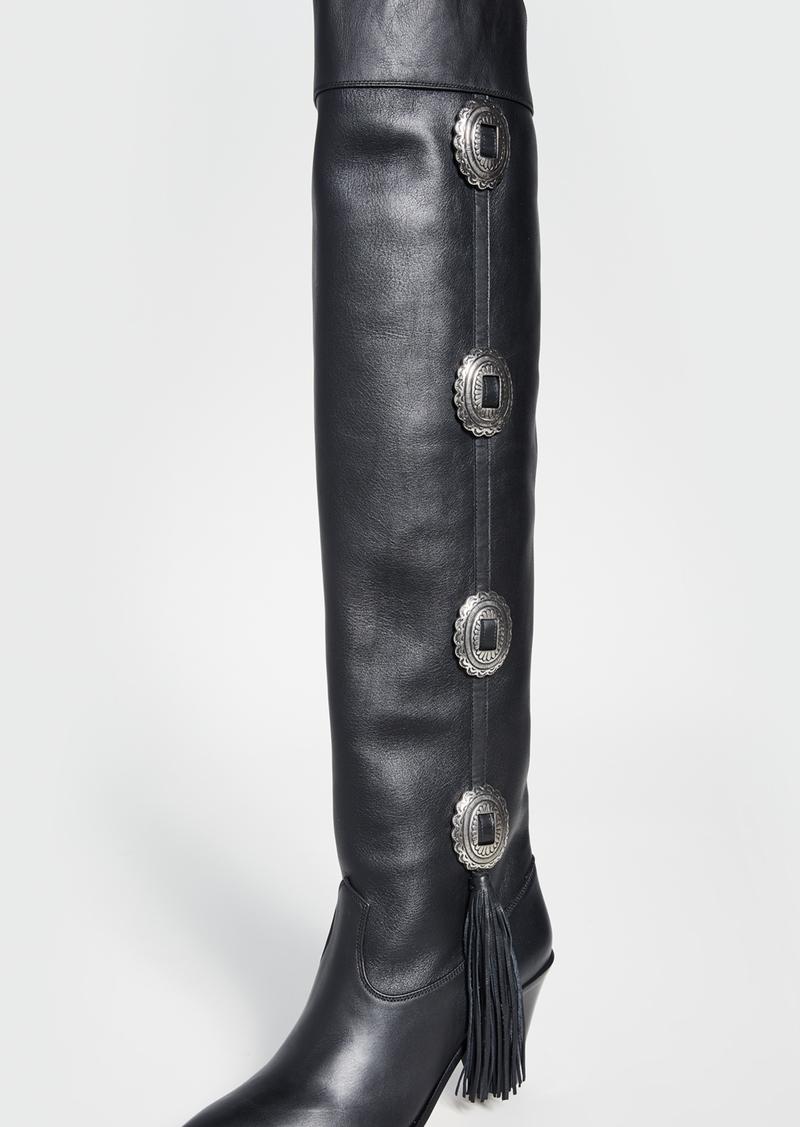 Aquazzura 70mm Go West Boots