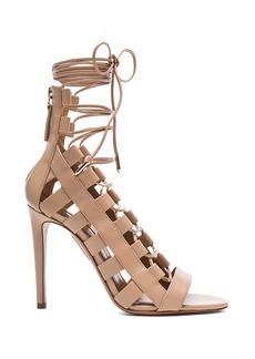 Aquazzura Amazon Leather Heels