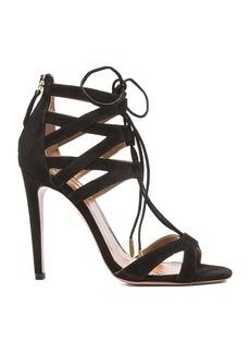 Aquazzura Beverly Hills Suede Sandals