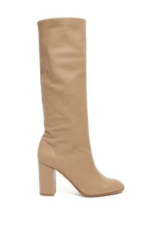 Aquazzura Boogie 85 knee-high leather boots