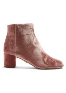 Aquazzura Brooklyn 65 velvet ankle boots