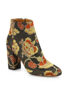 Aquazzura Brooklyn Floral Booties