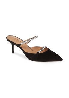 Aquazzura Diamante Pointy Toe Mule (Women)