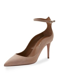 Aquazzura Dolce Vita Suede 85mm Pump