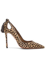 Aquazzura Forever Marilyn Calf Hair Heels