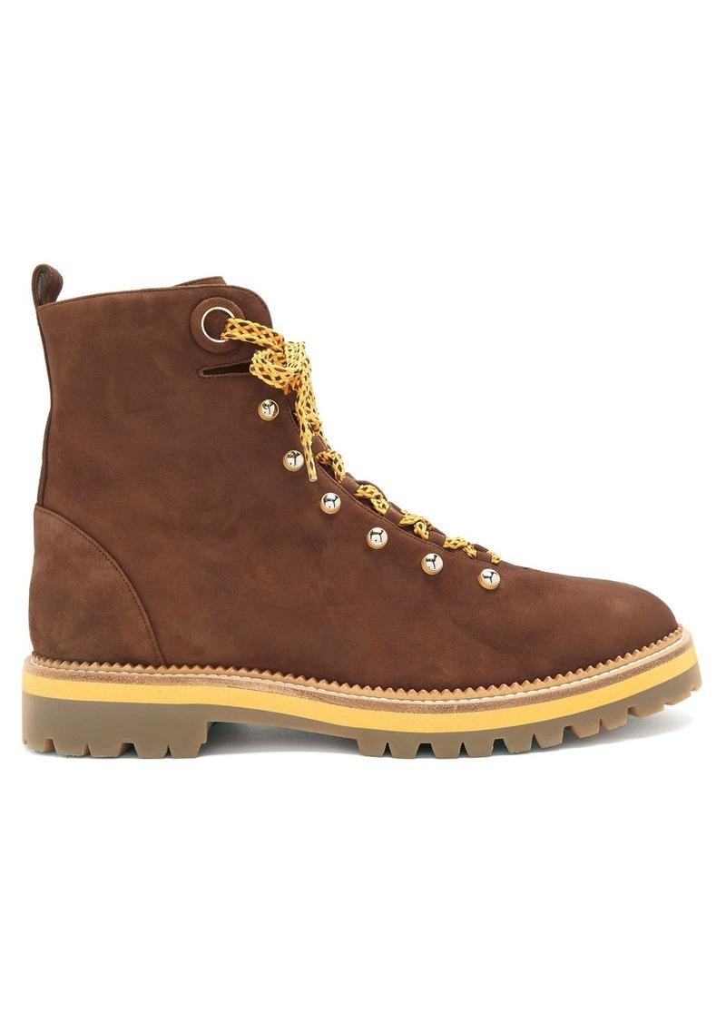 bf1fb27690574 Aquazzura Aquazzura Hiker tread-sole suede ankle boots