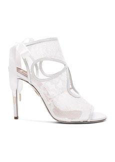 Aquazzura Lace Sexy Thing Bridal Heels